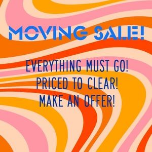 MOVING SALE! 🌸🏡